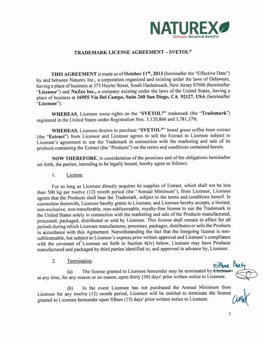 Trademark License Agreement Template Awesome Trademark License Agreement Template Ghostclothingco