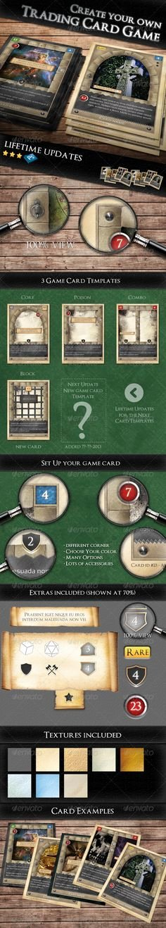 Trading Card Game Template Best Of Print Templates On Pinterest