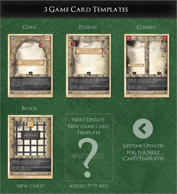 Trading Card Game Template Fresh 7 Sample Trading Card Templates