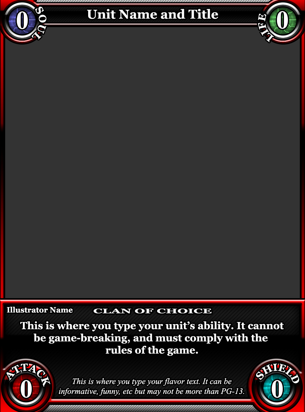 Trading Card Game Template New Tcg Card Template by Classysecretagent On Deviantart
