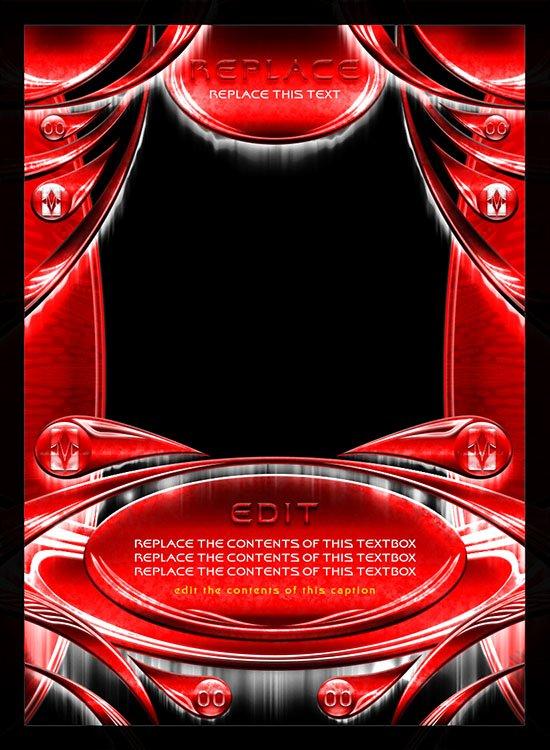 Trading Card Game Template Unique Card Design Trading Card Game Template Style 03 by