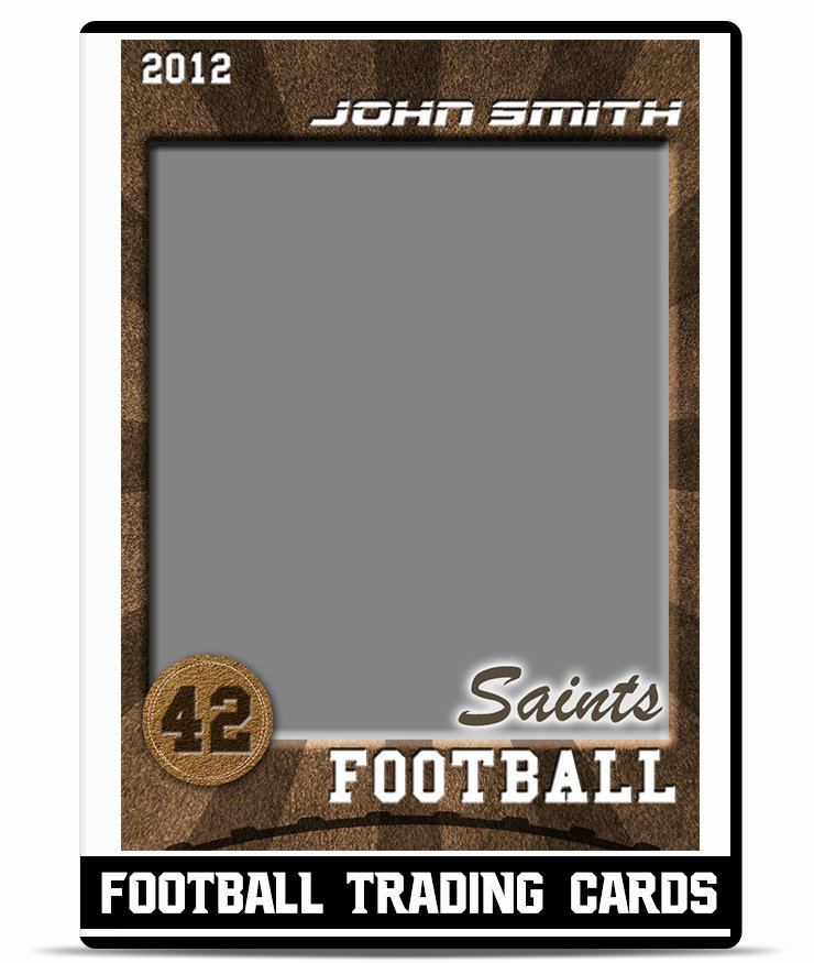Trading Card Template Free Fresh Football – Trading Card Template