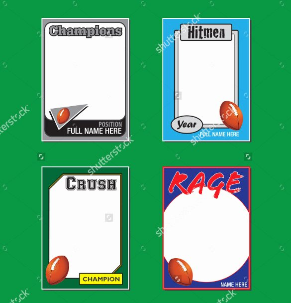 Trading Card Template Free Inspirational 33 Trading Card Template Word Pdf Psd Eps