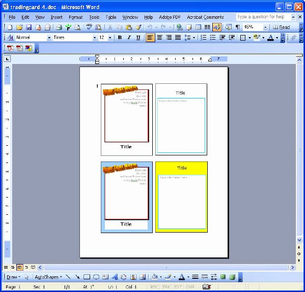 Trading Card Template Free New Microsoft Word Card Template 2×2 Vocabulary Flash Card