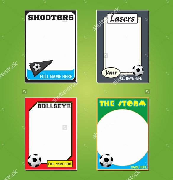 Trading Card Template Photoshop Awesome 33 Trading Card Template Word Pdf Psd Eps