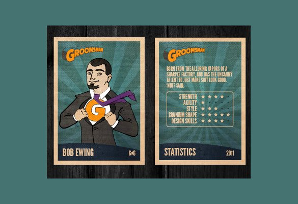 Trading Card Template Photoshop Luxury 33 Trading Card Template Word Pdf Psd Eps