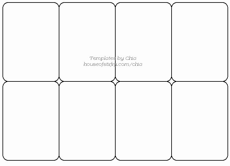 Trading Card Template Word Unique Playing Card Template
