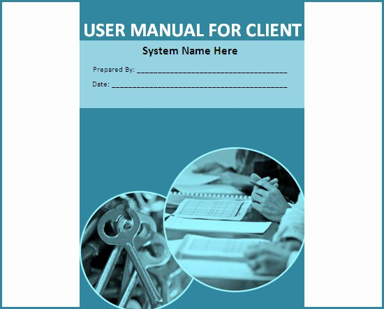 Training Manual Template Word Best Of Training Manual Template Word