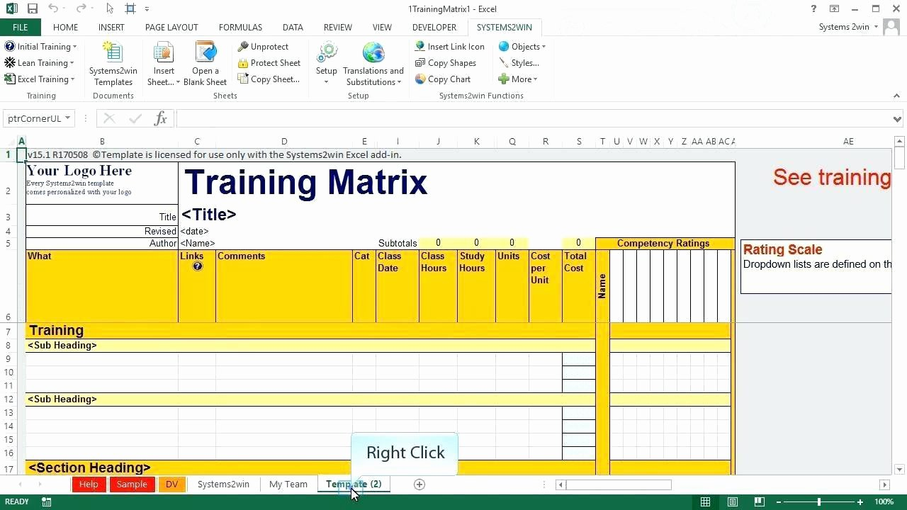 Training Matrix Template Excel Best Of Responsibility Matrix Template Excel Chart L Roles and