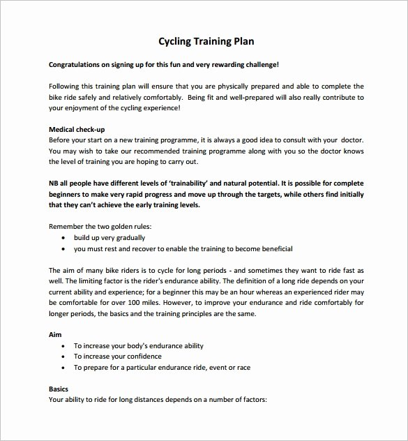 Training Outline Template Word New 11 Training Plan Templates Word Pdf