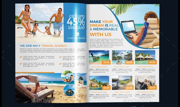 Travel Brochure Template Free Awesome 50 Travel Brochure Templates Psd Ai Google Pages