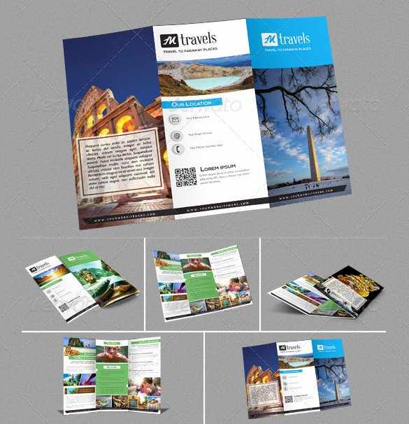 Travel Brochure Template Free Best Of 50 Travel Brochure Templates Psd Ai Google Pages