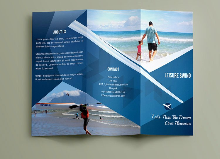Travel Brochure Template Free Inspirational 18 Best Travel & tourism Brochure Design Templates Page