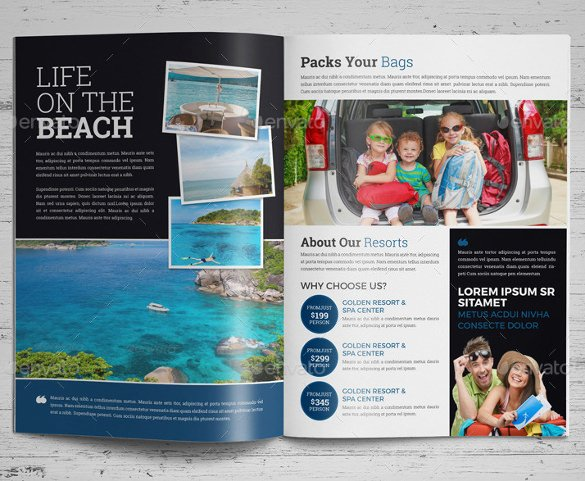 Travel Brochure Template Free Inspirational 50 Travel Brochure Templates Psd Ai Google Pages