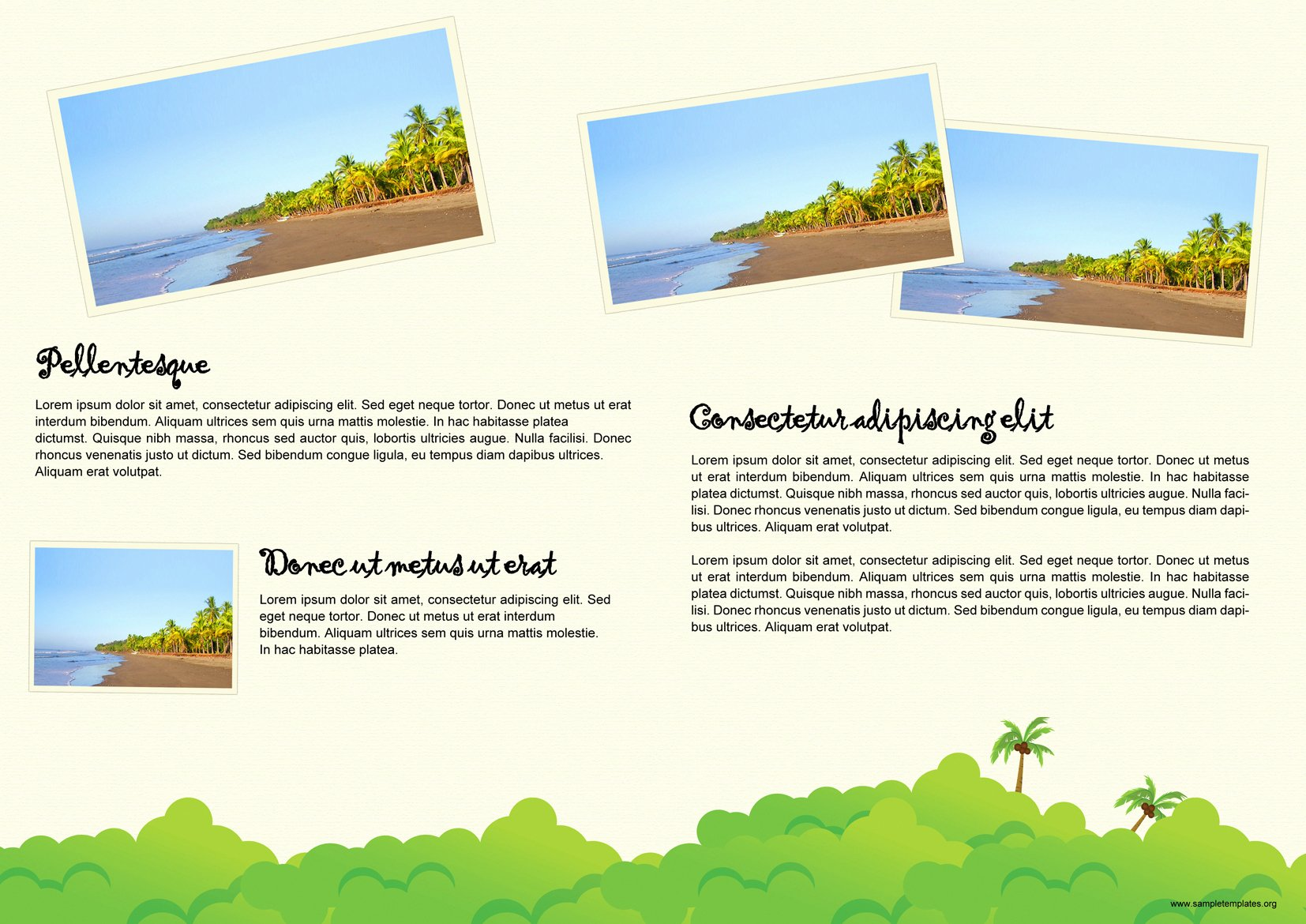 Travel Brochure Template Free Inspirational Travel Brochure Template