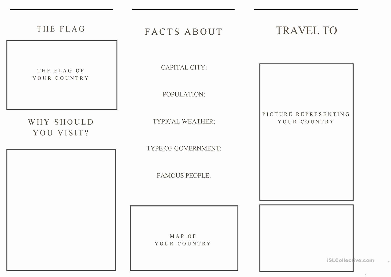 Travel Brochure Template Free Luxury Brochure Travel Brochure Template Travel Brochure
