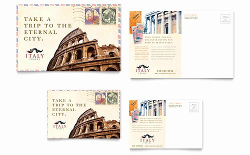 Travel Brochure Template Word Awesome Italy Travel Brochure Template Word & Publisher