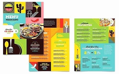 Travel Brochure Template Word Beautiful Food Menu A Ocean Aquarium Brochure Template Travel Word