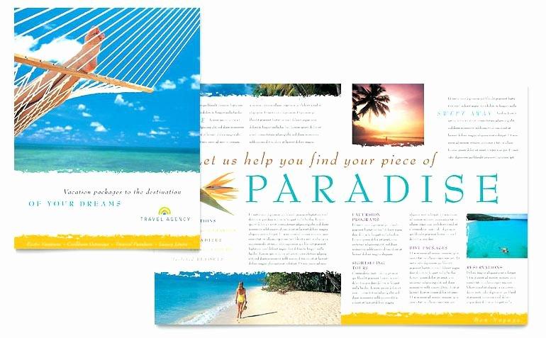 Travel Brochure Template Word Lovely Travel Brochure Template Word Free Templates Examples 8
