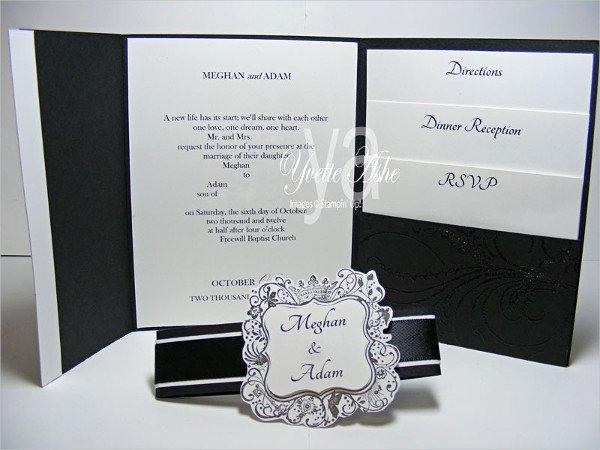 Tri Fold Invitation Template Best Of 18 Tri Fold Wedding Invitation Templates Free & Premium