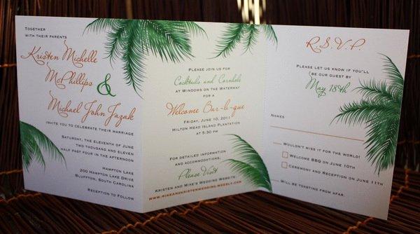 Tri Fold Invitation Template Fresh Wedding Invitations 60 Unique and Inspirational Design Ideas