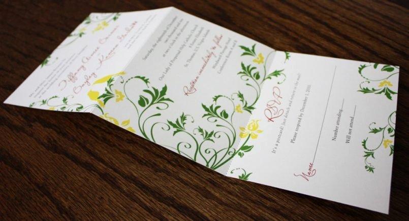 Tri Fold Invitation Template Inspirational Tri Fold Wedding Invitations Uk Tags Trifold Invi and