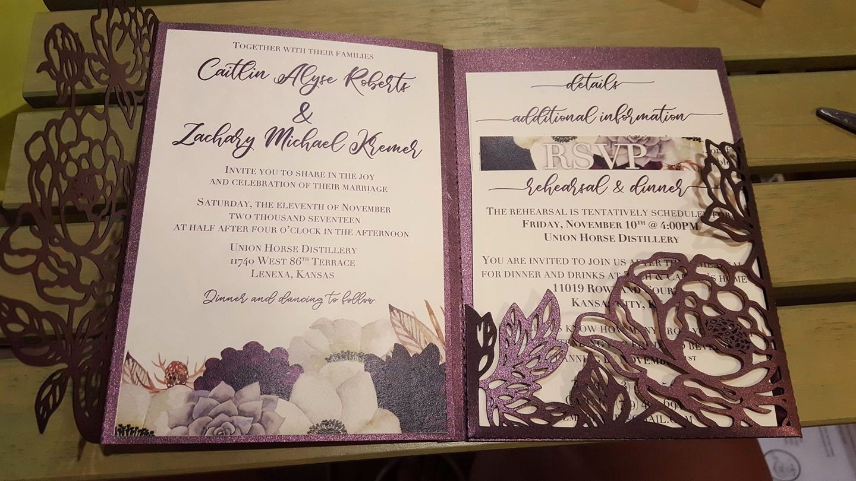 Tri Fold Invitation Template New Tri Fold Wedding Invitations Elegant Trifold Wedding