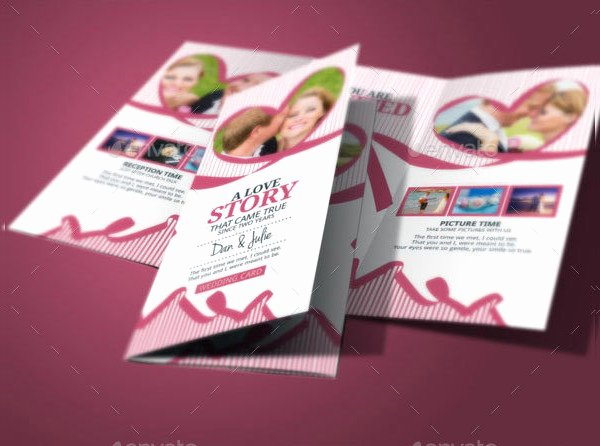 Tri Fold Invitations Template Best Of 17 Tri Fold Wedding Invitation Templates Free & Premium