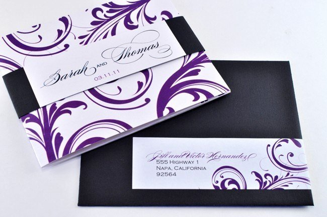 Tri Fold Invitations Template Best Of New Elegant Tri Fold Wedding Invitation with Perforated Rsvp