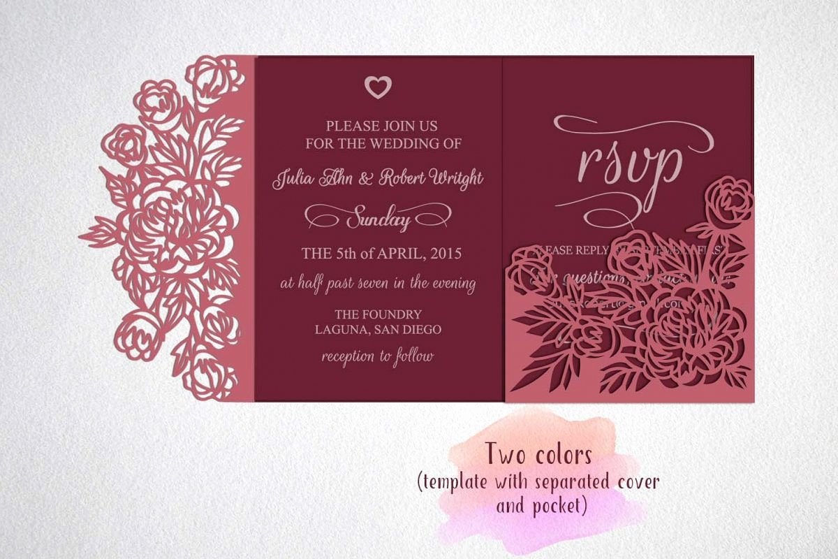 Tri Fold Invitations Template Best Of Tri Fold Wedding Invitation Template Sv
