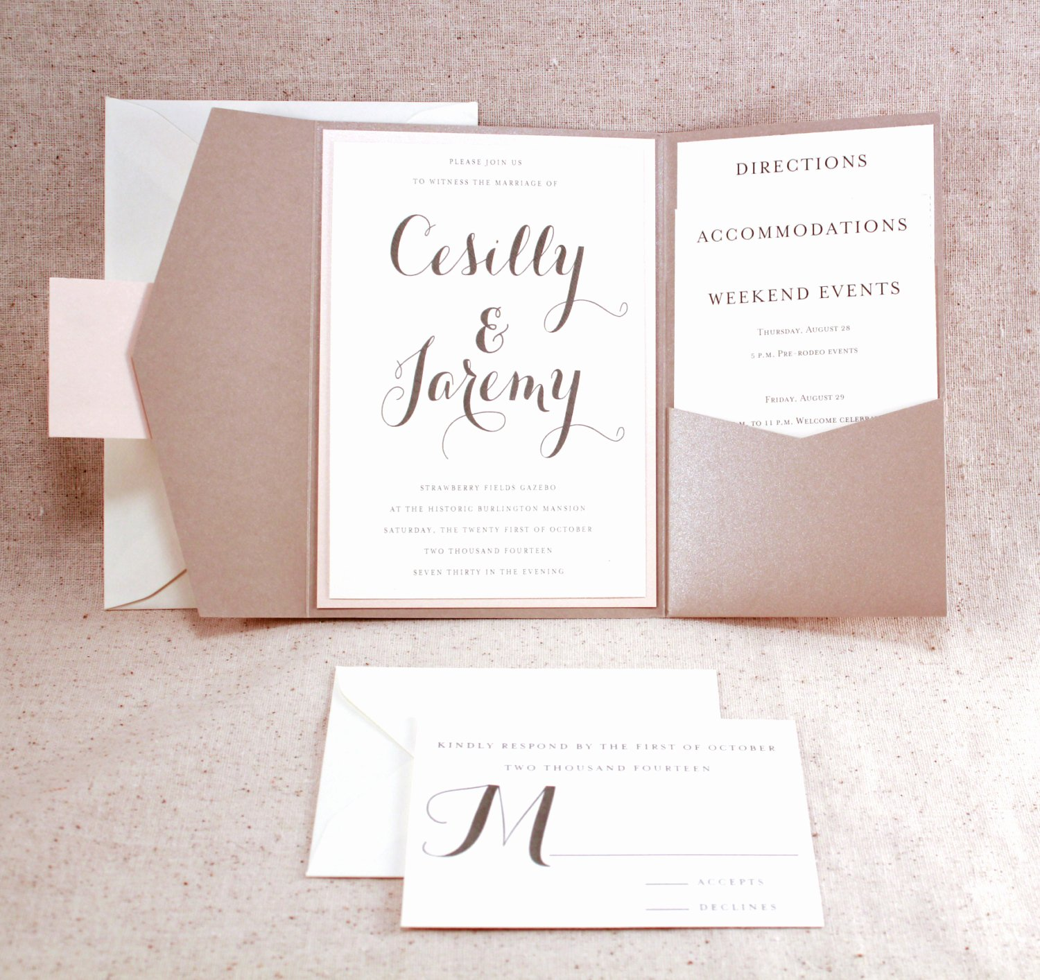 Tri Fold Invitations Template Best Of Tri Fold Wedding Invitations with Pocket