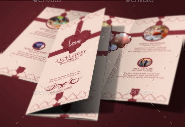 Tri Fold Invitations Template Fresh 17 Tri Fold Wedding Invitation Templates Free & Premium