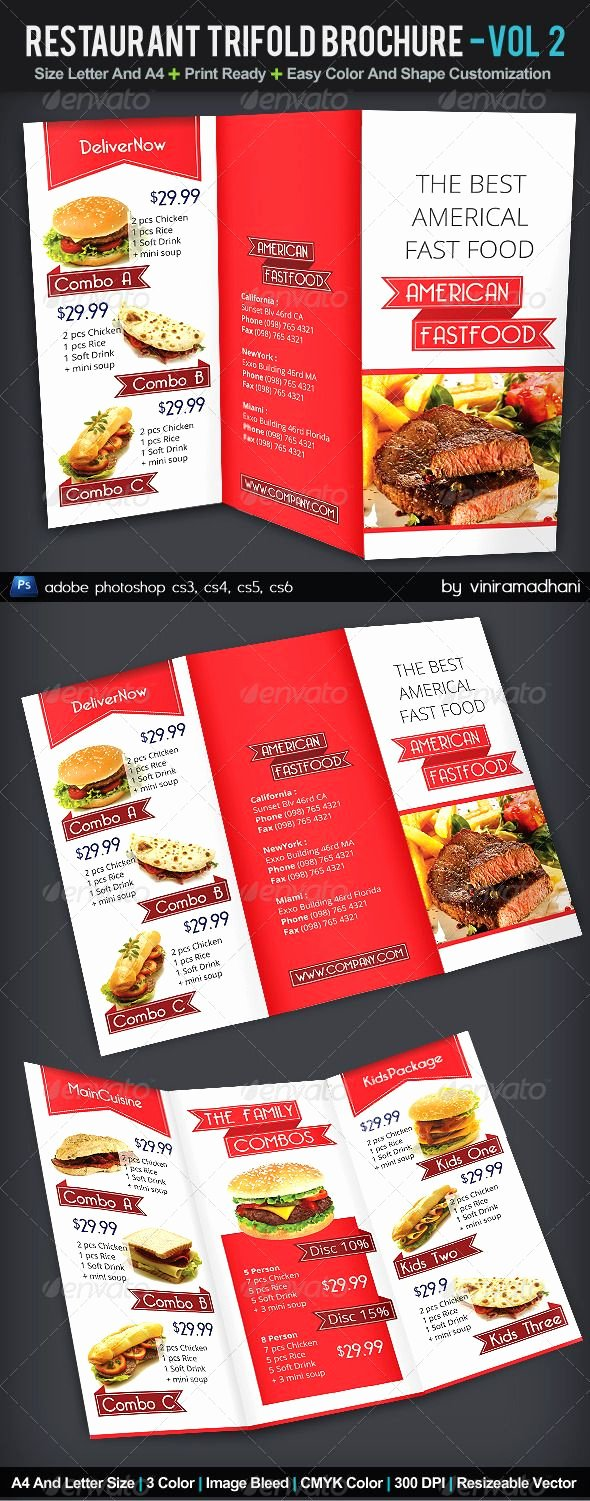 Tri Fold Menu Template Best Of 34 Best Images About Tri Fold Menu On Pinterest