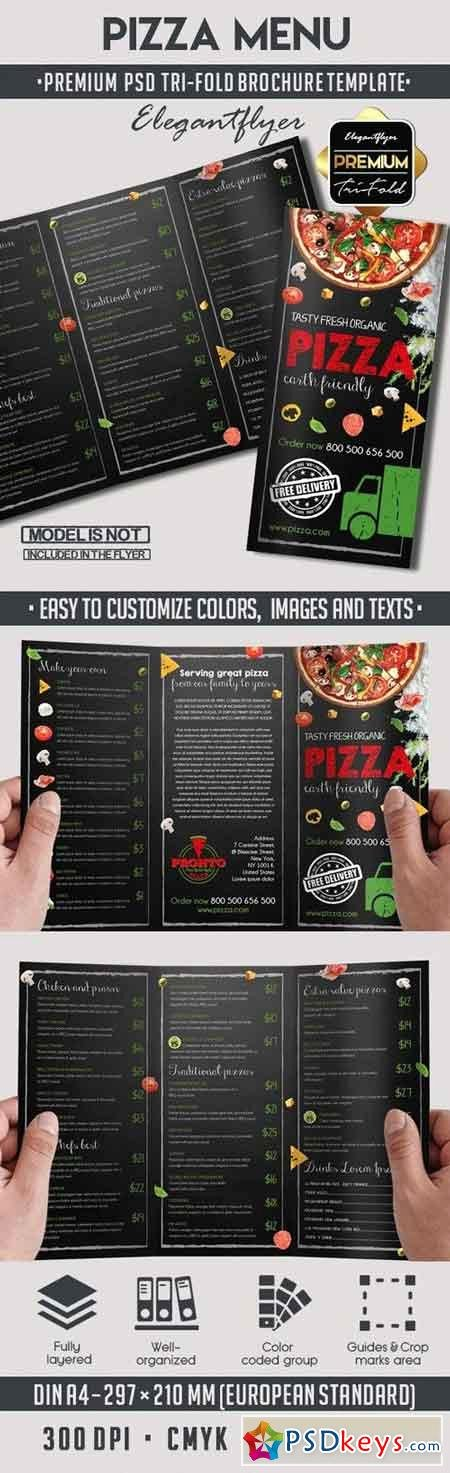 Tri Fold Menu Template Inspirational Brochures Page 10 Free Download Shop Vector Stock