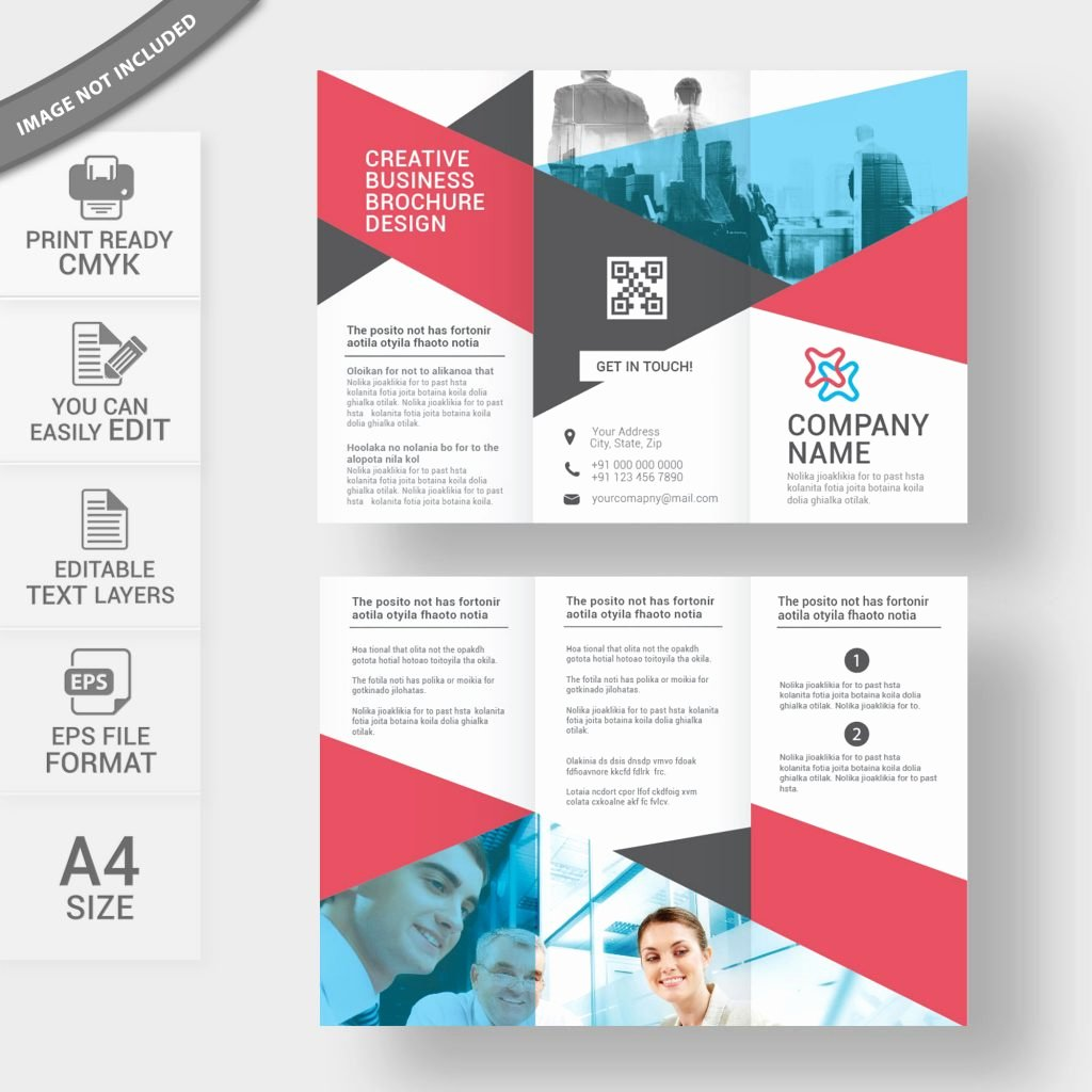 Tri Fold Template Free Awesome Tri Fold Brochure Template Free Download Print Ready
