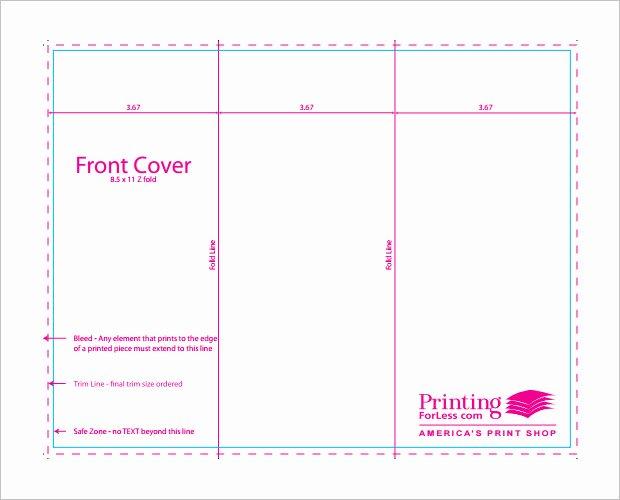 Tri Fold Template Free Fresh Indesign Brochure Templates Free Tri Fold Csoforumfo