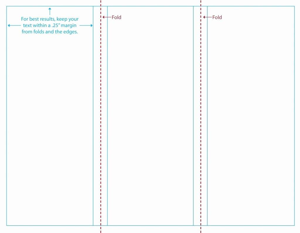 Tri Fold Template Free Inspirational Blank Brochure Templates Mughals