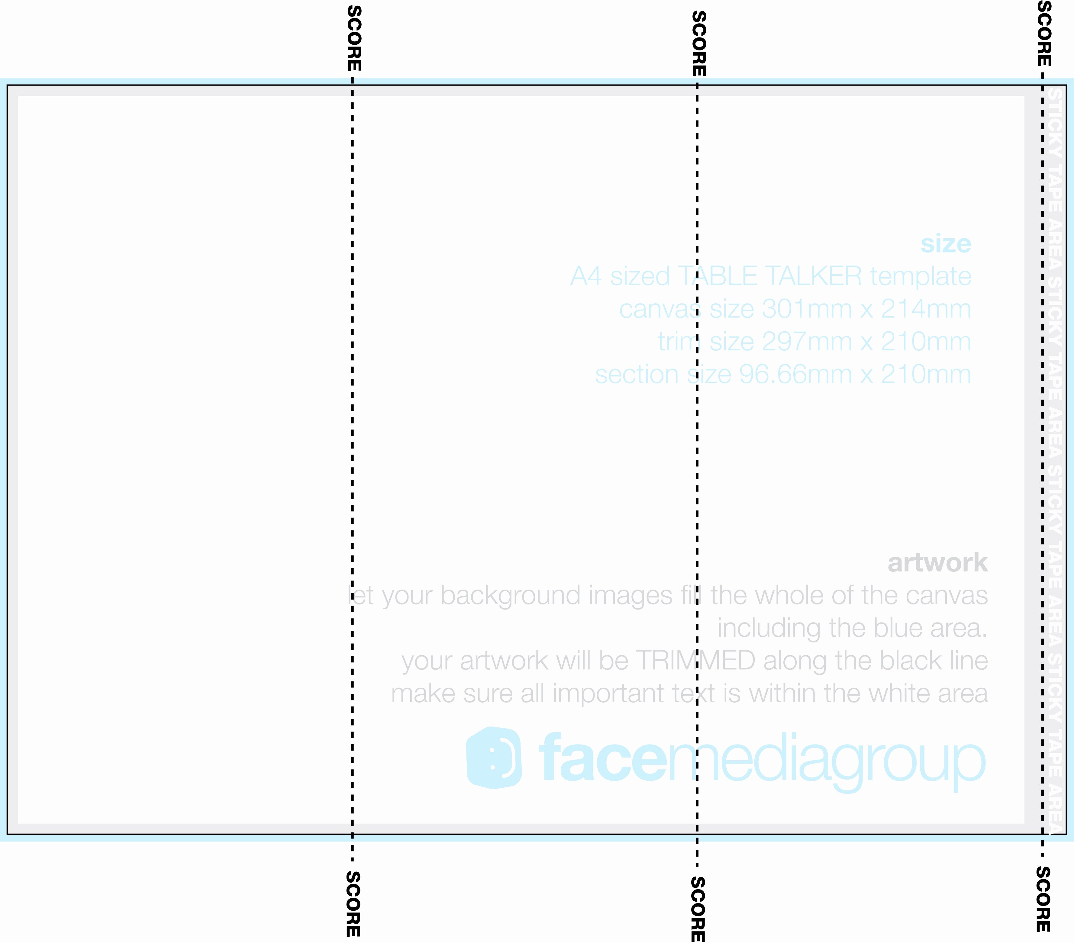 Tri Fold Template Free Lovely Blank Brochure Templates A4