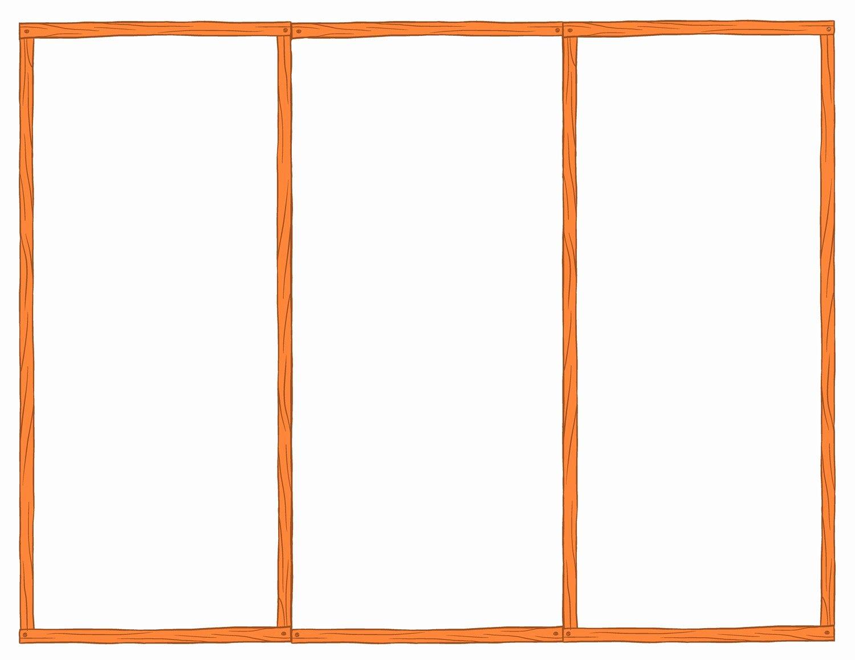 Tri Fold Template Free New Blank Brochure Mughals