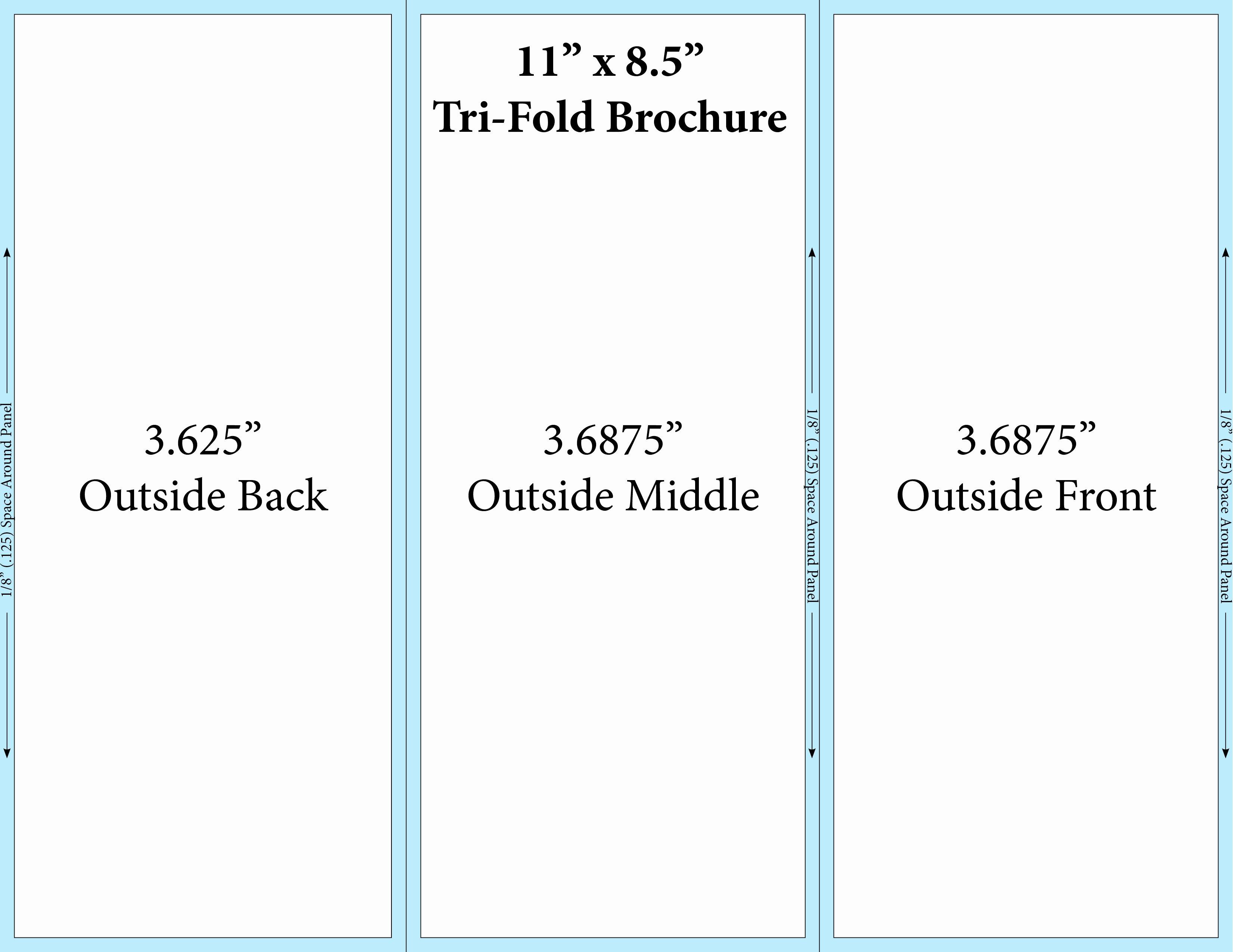Tri Fold Template Free New Microsoft Word Tri Fold Template Templates Data