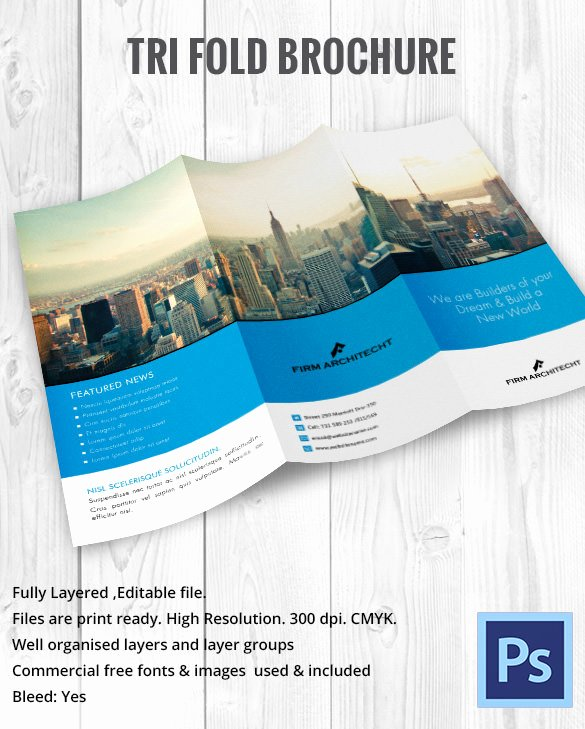 Tri Fold Template Indesign Beautiful 10 Printable Trifold Templates Doc Psd Pdf Eps