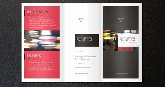 Tri Fold Template Indesign Elegant 10 Free Indesign Templates