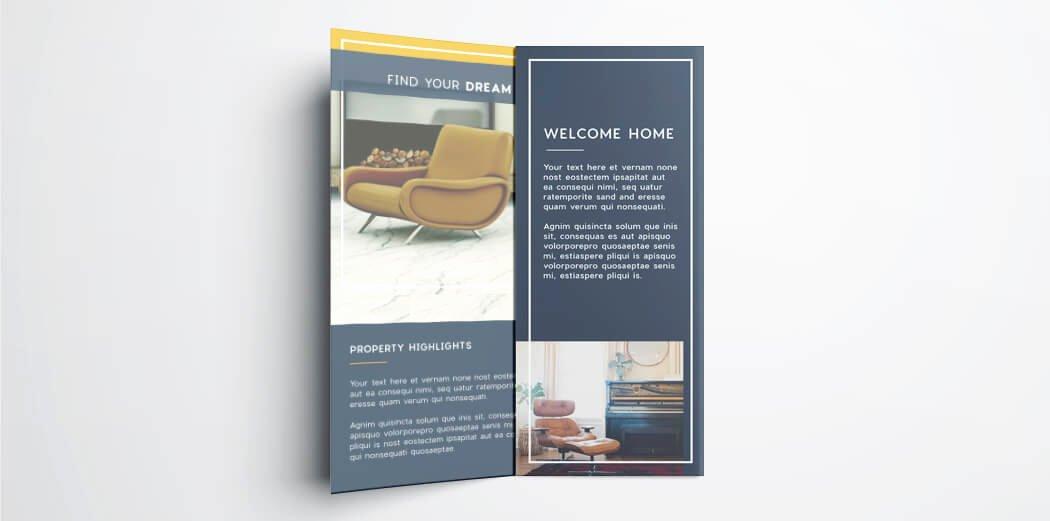 Tri Fold Template Indesign Inspirational Tri Fold Brochure