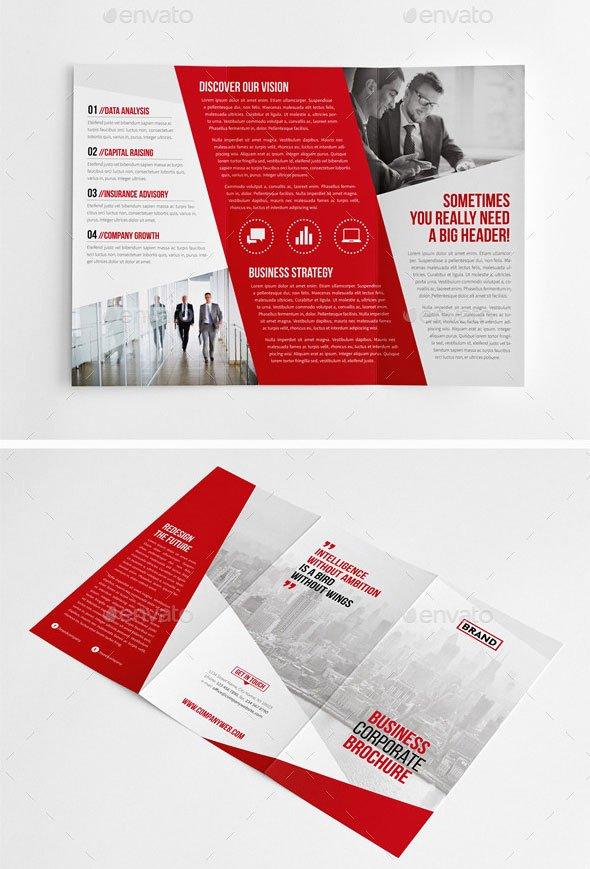 Tri Fold Template Indesign Luxury 30 Eye Catching Psd & Indesign Brochure Templates – Bashooka