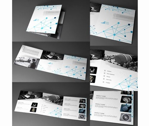 Tri Fold Template Indesign Luxury Tri Fold Brochure Template 20 Free Easy to Customize Designs