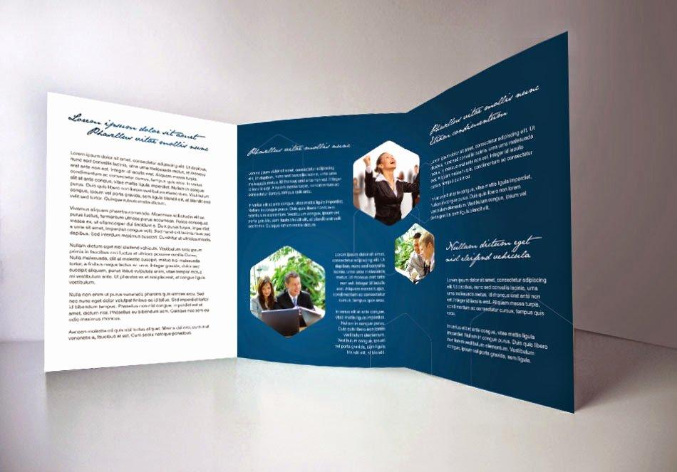 Tri Fold Template Indesign New Indesign Tri Fold Brochure Template Free Csoforumfo