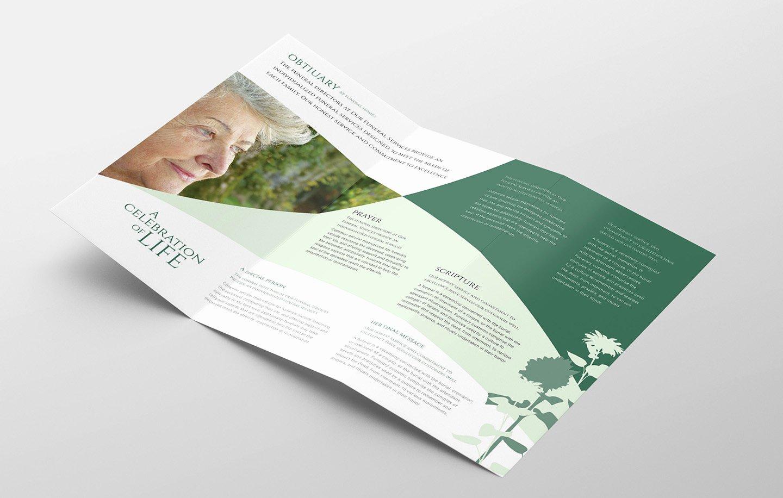Tri Fold Template Photoshop Elegant Funeral Service Trifold Brochure Template Psd Ai