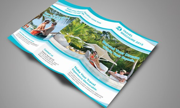 Tri Fold Template Photoshop Inspirational Travel Brochure Templates 21 Download In Psd Vector