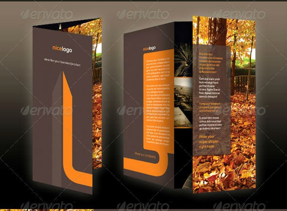 Tri Fold Template Photoshop Lovely 40 Best Corporate Brochure Print Templates Of 2013
