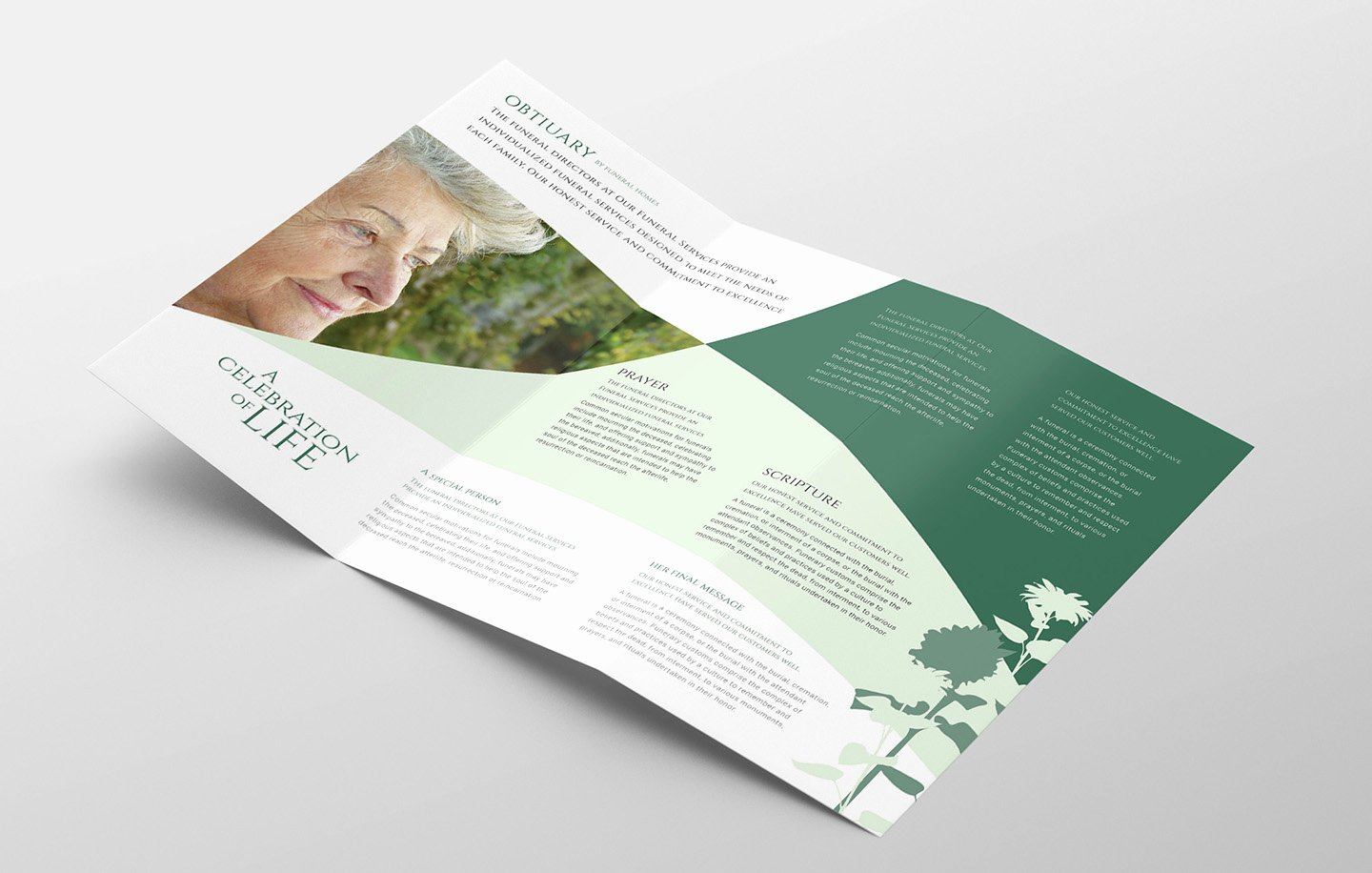 Trifold Brochure Template Illustrator Beautiful Funeral Service Trifold Brochure Template Psd Ai